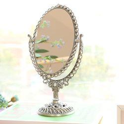 에이동천사호 엔틱 파도 스탠드 거울 M 주석