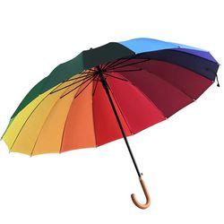 튼튼 Lumiere Rainbow 장우산 CH1502287