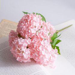 수국 조화(핑크)