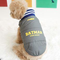 강아지옷 배트맨 양면패딩