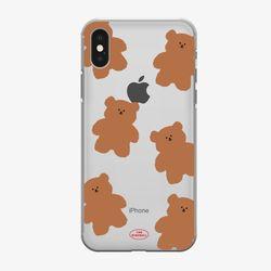 pattern slow bear 젤리케이스