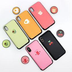 나인어클락 디저트 카드슬롯 케이스 + 꾸며톡 세트 아이폰11pro