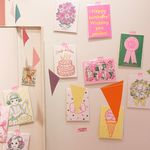 Risography greeting card