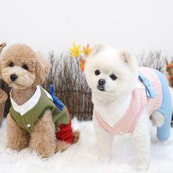 강아지옷 새신랑한복