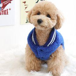 강아지옷 슈퍼맨 양면 후리스