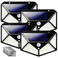 어반LED 태양광 센서등 S1+자석브라킷 패키지 4개세트