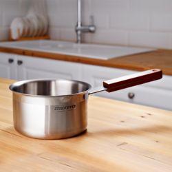 키친아트 멘토 스텐 인덕션 이유식냄비 24cm 밀크팬