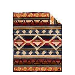 기모처리 된 자카드 블랭킷 로브 담요 시더 마운틴 하비스트
