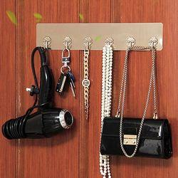 클러버 튼튼 열쇠 가방 고리 접착 후크