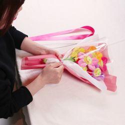 스마일 꽃 인형 꽃다발 DIY 만들기