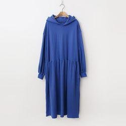 Hood Puff Long Dress
