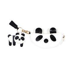 Panda Family Ecobag