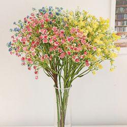 롱스템 봄봄 안개 꽃 - 인테리어조화 실크플라워