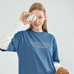 심플스테레오 반팔 티셔츠