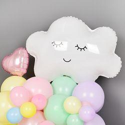은박풍선 구름