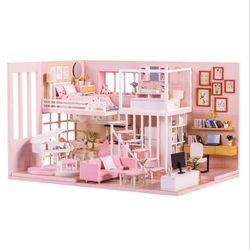 [adico]DIY 미니어처 하우스 - 드림 걸 하우스