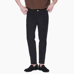 LM023 COZY COTTON PANTS BLACK