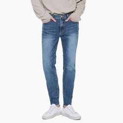 LM027 CLEAN STRAIGHT JEANS