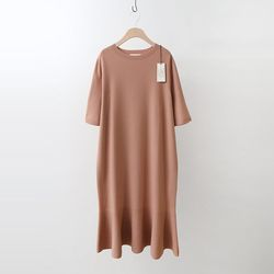 Laine Wool Flare Long Dress