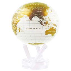 빛만 있으면 OK 자가회전 금백색 지구본 114mm