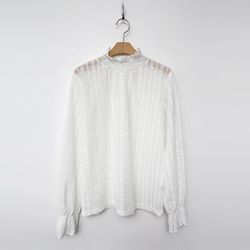 Lace Frill Blouse