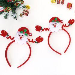 만들기 해피 산타 머리띠 (5set)