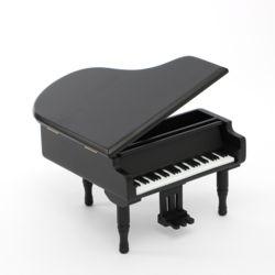 그랜드피아노 우드오르골(블랙)