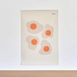 계란 일러스트 패브릭 포스터.가리개커튼 (M 사이즈)