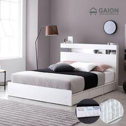 레이어 LED 서랍형 침대 K 미니포켓 투탑