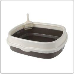 산시아  블루파우 가든 브라운 평판 화장실고양이 화장실