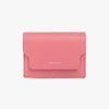 REIMS W020 zip Card Wallet Rose Pink