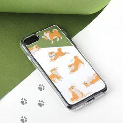 아이폰87 미러 그래픽 시바 케이스