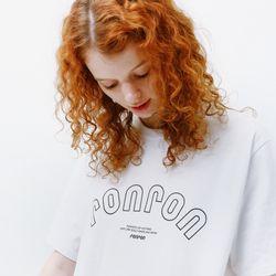 RONRON SIGNATURE T-SHIRT WHITE