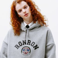 RONRON INST MARK HOODIE GREY