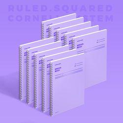 스프링북 컬러칩 - 바이올렛 (코넬시스템) 10EA