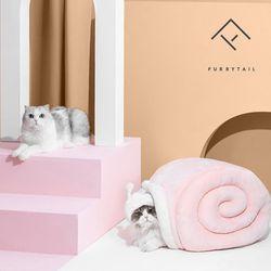 퓨리테일 고양이 달팽이터널 숨숨집 하우스