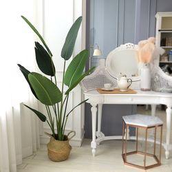 인테리어조화 인조나무 조화화분 헬리코니아 160