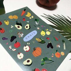 Vegetable sticker 2