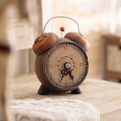 빈티지 시계 저금통