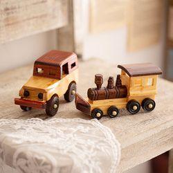 나뭇결 원목 장난감