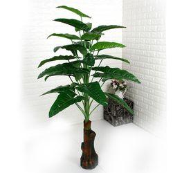 인테리어조화 인조나무 조화화분 알로카시아 144
