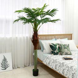 인테리어조화 인조나무 조화화분 아레카팜 200