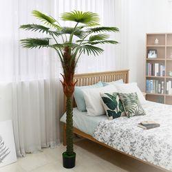 인테리어조화 인조나무 조화화분 워싱턴팜 200