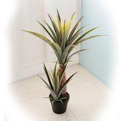 인테리어조화 인조나무 조화화분 하와이 파인애플 2단 85