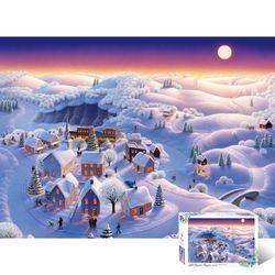 500피스 눈 덮힌 마을 TPD05-1013