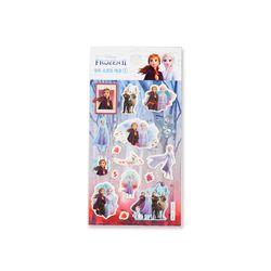 겨울왕국2 큐트소프트 데코 스티커