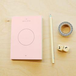CIRCLE DIARY S-pink