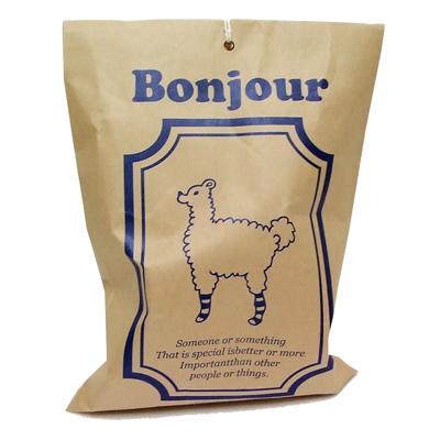 Bonjour Envelope+gift tag+sticker set