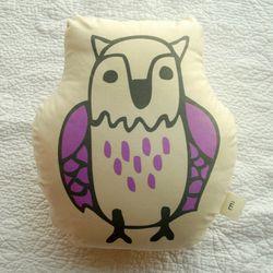 FOREST CUSHION-eagle owl
