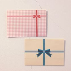 Folding letter-Pink gift